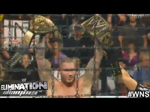WWE Elimination Chamber 2014:  Randy Orton Wins Elimination Chamber Match 2014 Results in 60 Seconds