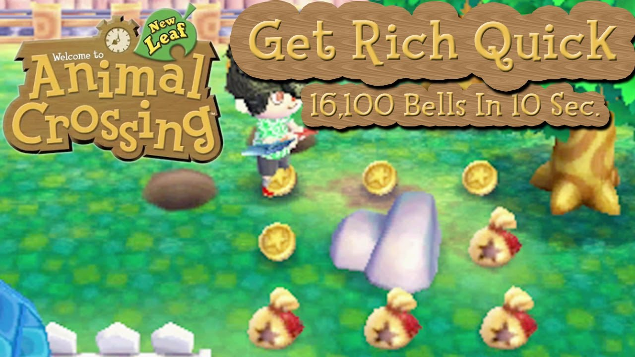 Animal Crossing New Leaf Get Rich Quick 16 100 Bells