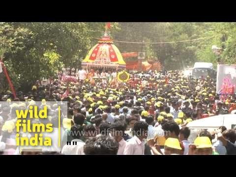 Jagannath Rath Yatra - the festival of Chariots in Delhi