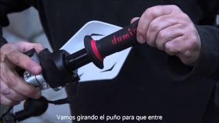 Cambiar los puños de moto
