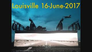 U2 - Louisville, USA 16-June-2017 (Full Concert With Enhanced Audio)
