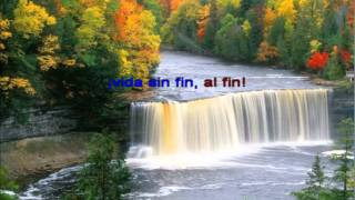 ¡Al Fin, Vida Sin Fin! Cantico 55 KARAOKE.wmv