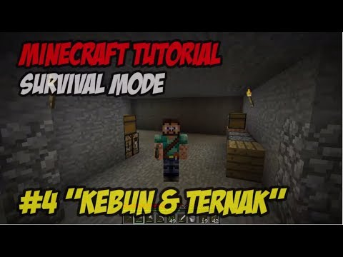 Tutorial Minecraft Survival (Indonesian Commentary) E4 ~
