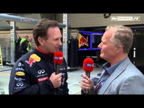 Horner defends Vettel blast (China 2014)