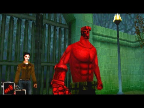 hellboy video game