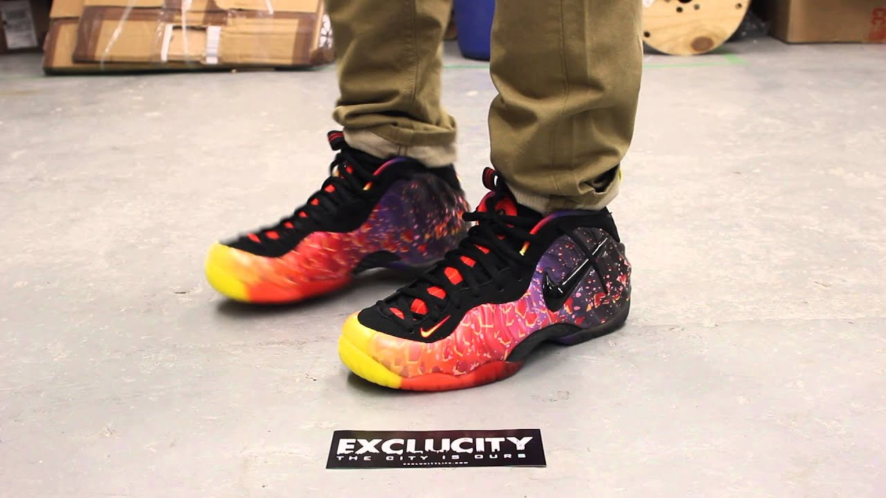 joggers with foamposite asteroid - photo #14