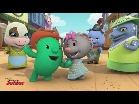 Sheriff Callie's Wild West - Prickly Pals Song - Official Disney Junior UK HD