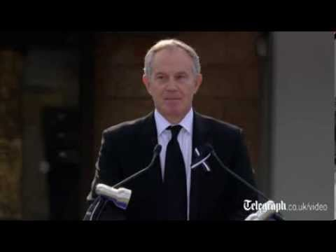 Tony Blair: Ariel Sharon was 'a giant of this land'