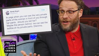 Seth Rogen Has Come to Terms with His Mom's Tweets