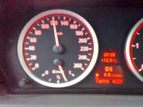 BMW 535D E60 0-200 Acceleration