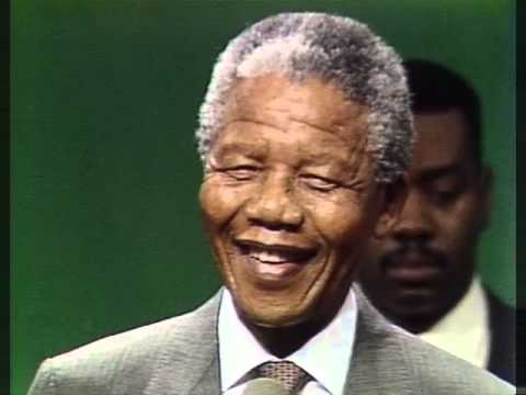 Raw Video: Nelson Mandela visits Madison Park HS In Roxbury in 1990