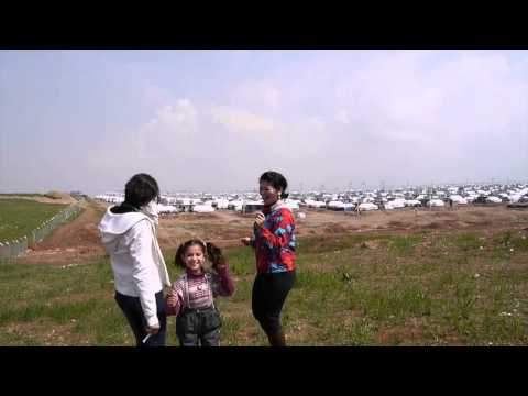 Happy - Pharrell Williams  Syrian refugees at Darasakran refugee camp in Erbil, Iraq.