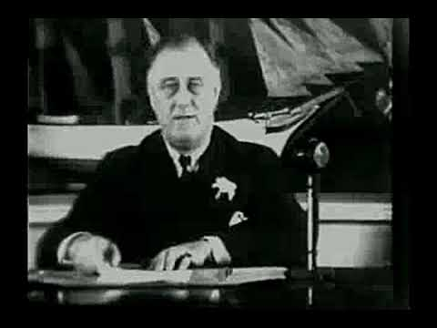FDR Fireside Chat Unemployment 1935