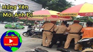 Bác tài xế cứng bật CSGT Hưng Yên hồn bay phách lạc