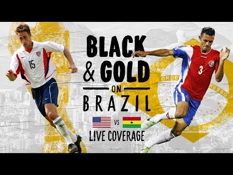 United States vs. Ghana: Black & Gold on Brazil - Post-Match