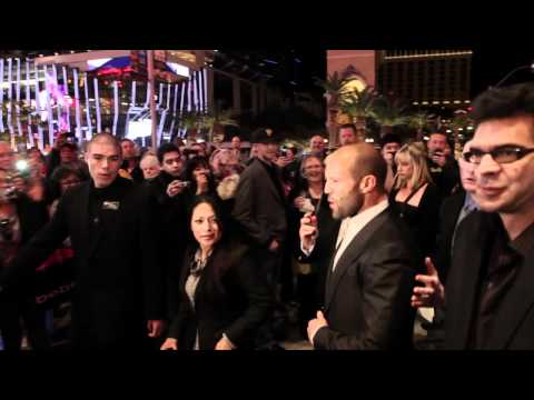 Jason Statham The Mechanic movie premiere