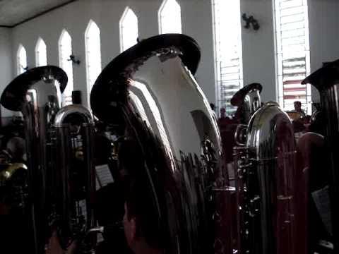 SAX BAIXO HINO 75 CCB - ENSAIO REGIONAL CONCEIÇÃO DAS ALAGOAS-MG 14/03/2010