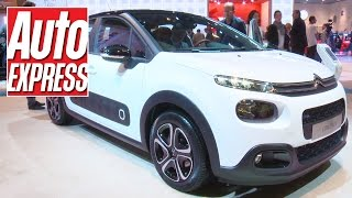 Zut alors! Funky new Citroen C3 steals Paris 2016 spotlight. Auto Express.