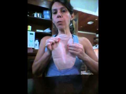 Colostomia:Higienização de bolsa coletora.