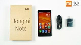 Xiaomi Redmi Note (a.k.a Hongmi Note) Unboxing & Hands
