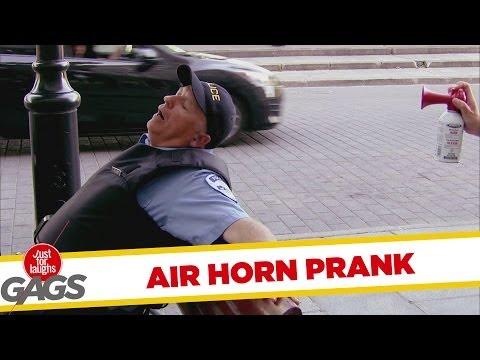 Air Horn Prank - Duda