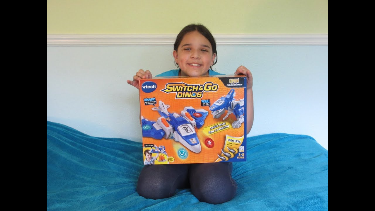 Vtech Switch & Go Dino Unboxing