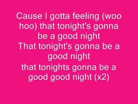 Paroles I Gotta Feeling par The Black Eyed Peas - Lyrics ...