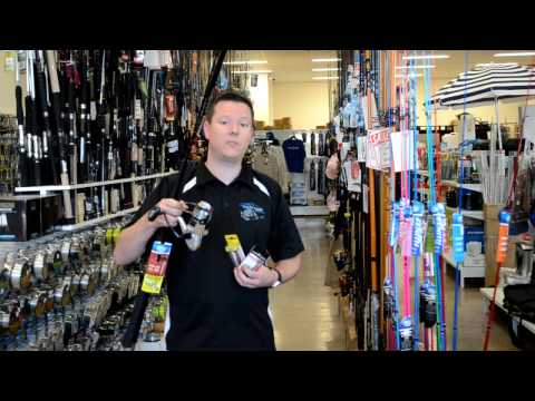 (PLAY VIDEO) For info on FREE Fishing gear This Weekend at Ocean Storm Fishing Tackle (Warilla)
