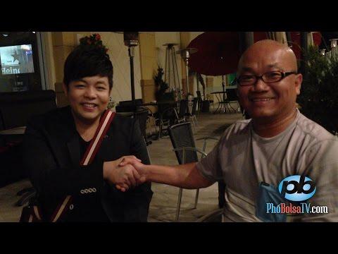 Ca sĩ Quang Lê nhận lời thử thách Dội Nước Đá từ Phương Mỹ Chi