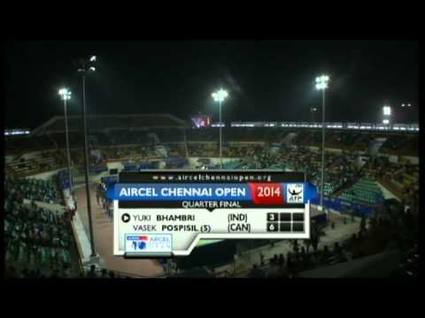 ACO 2014 - Day5: Match3 - Y BHAMBRI vs V POSPISIL