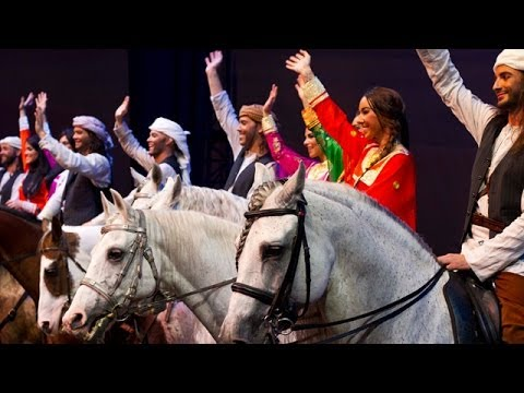 Cavalia debuts at the Qasr Al Hosn Festival in Abu Dhabi
