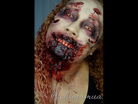 Walking Dead Zombie Makeup Tutorial
