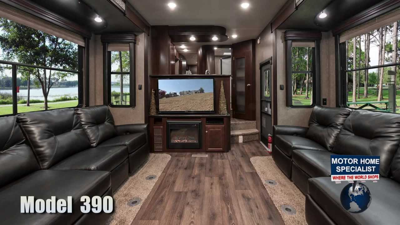 Road Warrior 390 Toy Hauler Luxury 5th Wheel Review At