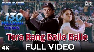 Tera Rang Balle Balle - Soldier - Bobby  Deol & Preity Zinta - Full Song