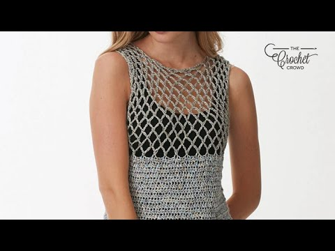 How to Crochet A Tank Top: XS - 5 XL