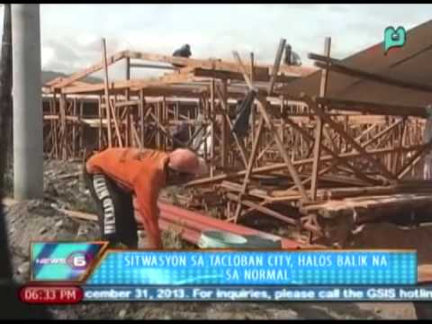 News@6: Sitwasyon sa Tacloban City, halos balik na sa normal || Dec. 16, 2013