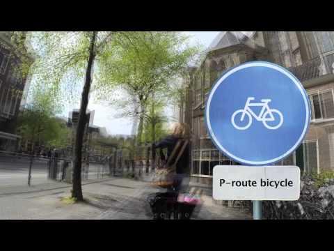 Vídeo Vídeo: Ciclovias de Utrecht indicam onde há vagas para estacionar as bicicletas