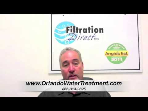 Why Filter the Water? Water Treatment System New Smyrna