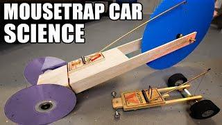 1st place Mousetrap Car Ideas- using SCIENCE