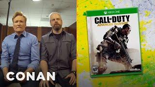 "Clueless Gamer: Conan Reviews ""Call Of Duty: Advanced Warfare"""