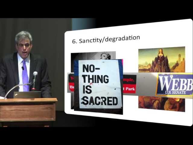 2013 Boyarsky Lecture by Jonathan Haidt, PhD