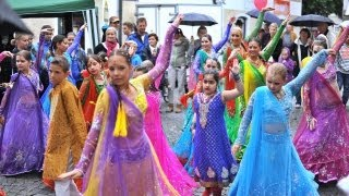 Cute Bollywood Dancing Kids in Germany
