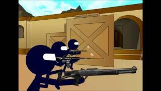 Counter Strike (Parodia)DE_Dust (Subtitulado)