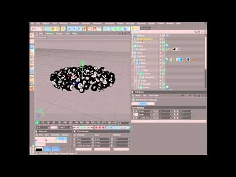 Create an animation using dynamics in Cinema 4D (6 of 6)