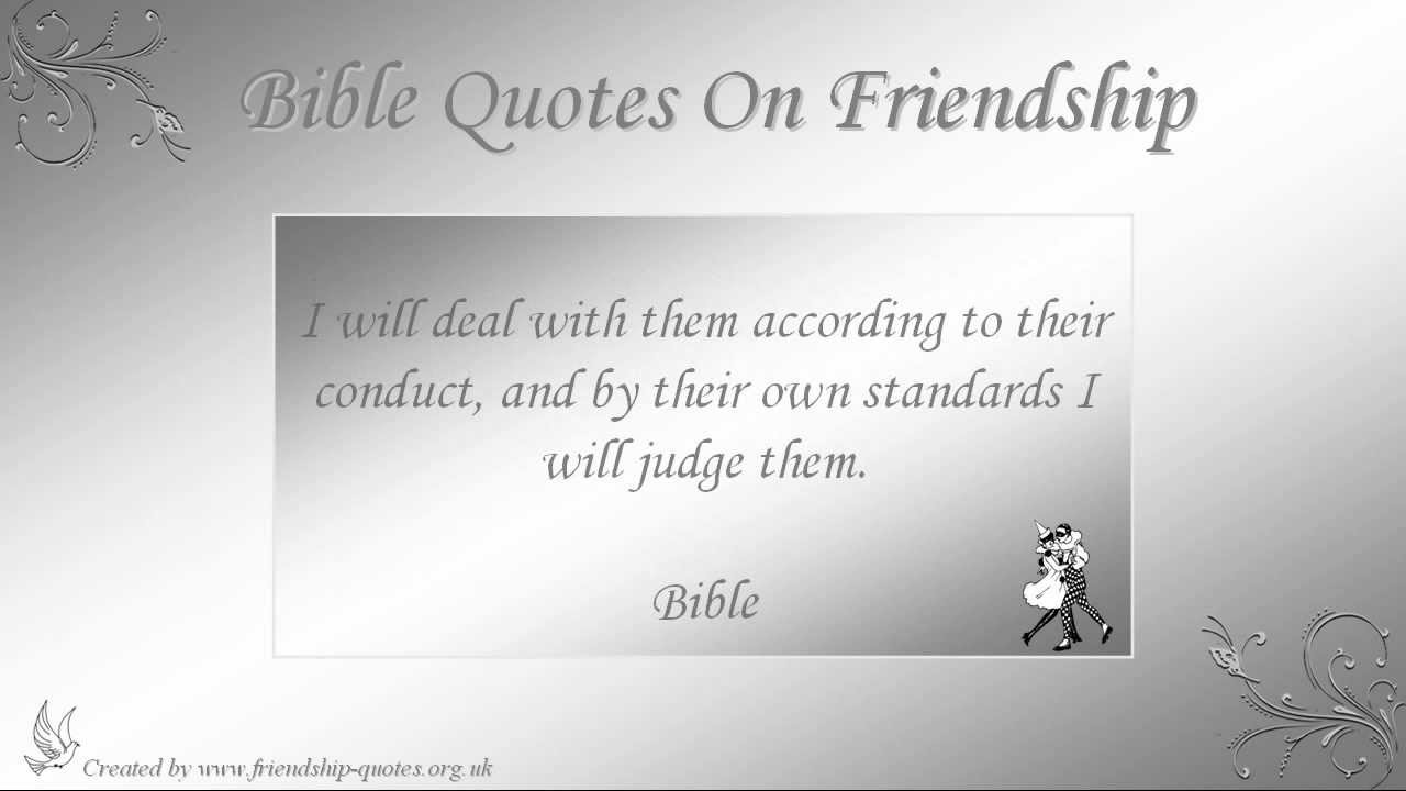Bible Verses Involving Friendship : Bible quotes on friendship
