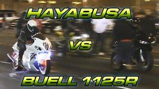 Suzuki Hayabusa Vs Buell 1125R