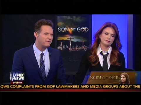 Roma Downey & Mark Burnett Talk 'Son of God,' Satan in 'Hannity' Special 1