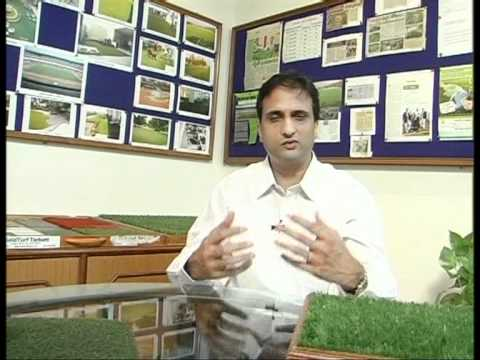 Anil Kumar (MD- FieldTurf Tarkett India) from Hyderabad on ETV Yuva Bharat