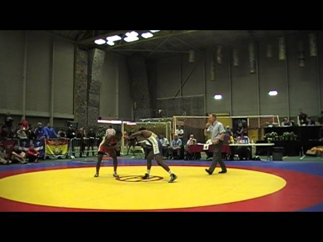 2014 Junior National Championships: 60 kg Isaac Bernard vs. Dillon Williams