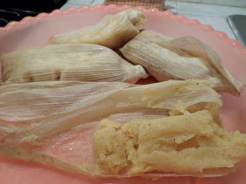 Tamales de Coco y Durazno